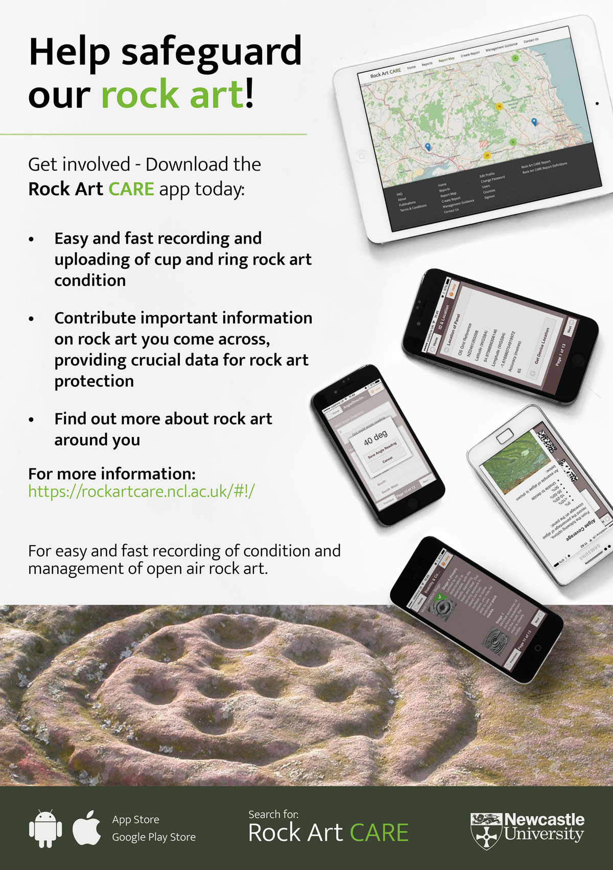 Rock Art Safeguarding: using a mobile app to get the job done