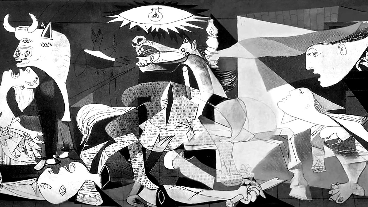 Is art for pleasure or politics? 'Guernica' by Pablo Picasso, 1937.