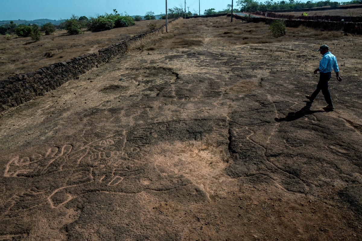 Extensive rock art revealed in India