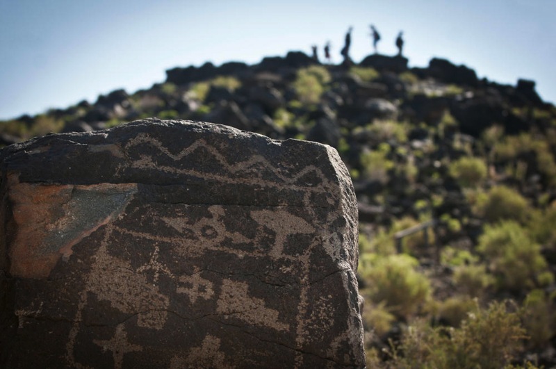 Petroglyph National Monument of New Mexico