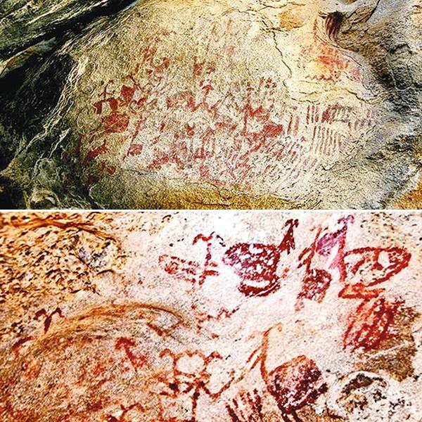 Antalya prehistoric rock paintings Mount Latmos Neolithic Chalcolithic age Turkey