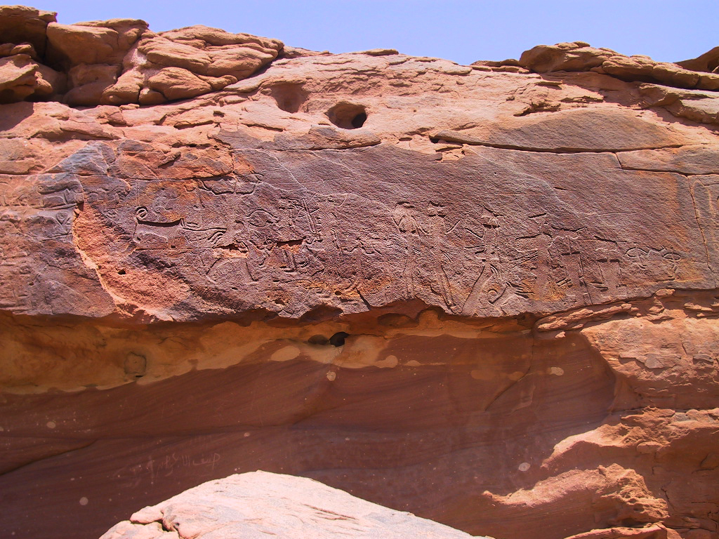 Arabian peninsula petroglyphs map climate change