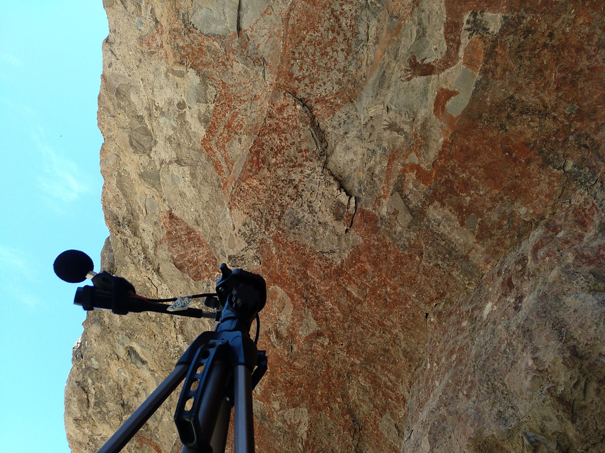 Artsoundscapes and archaeoacoustics. Archaeology. Rock art