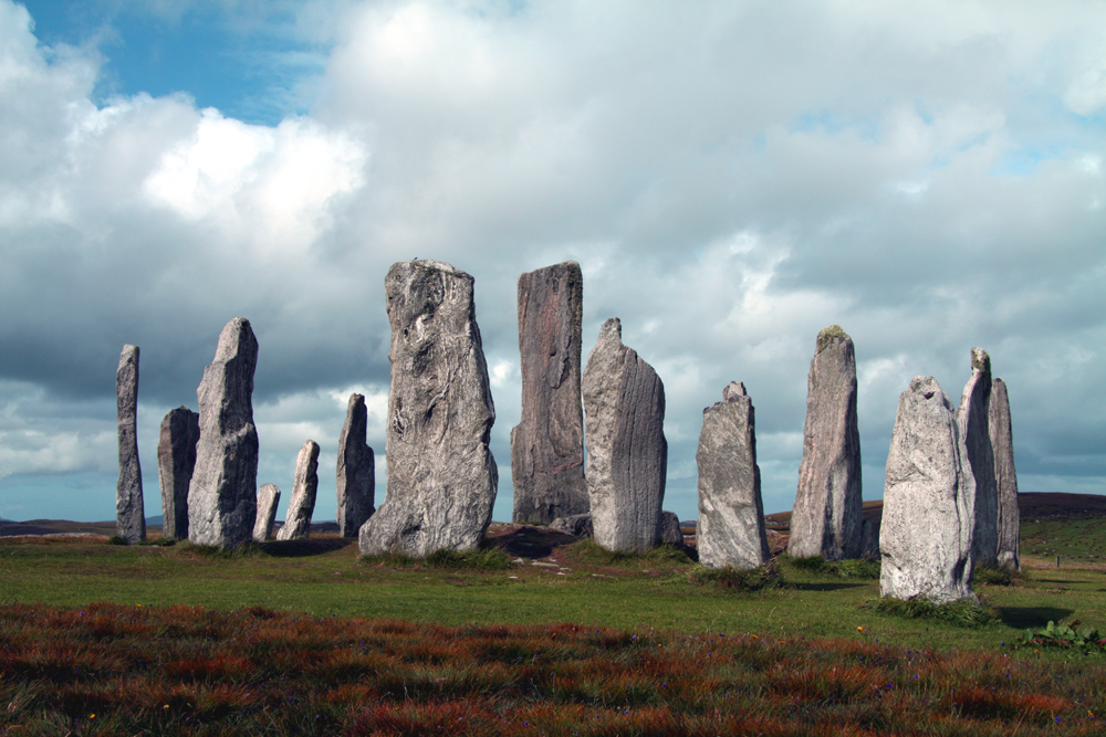 callanish stones in prehistoric scotland