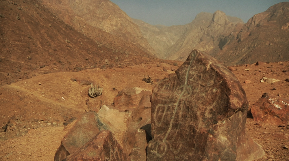 The petroglyphs of Checta in Peru may represent 5000 year old writing