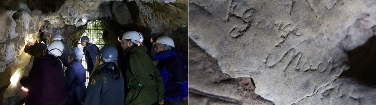 Markings in Creswell Crags