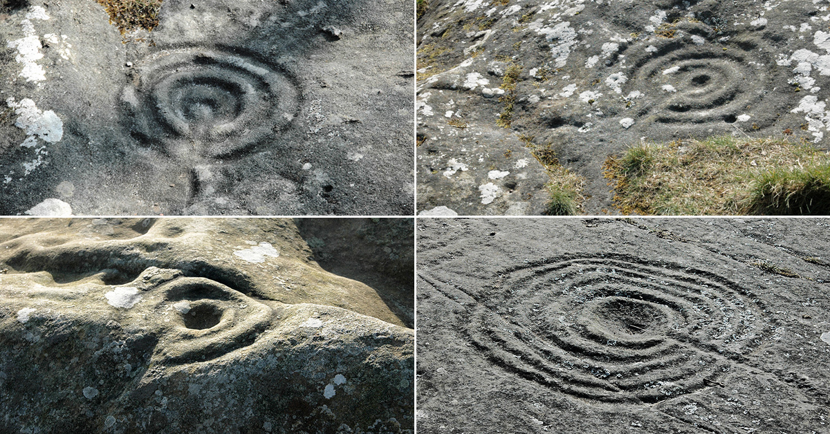 Rock Art Petroglyphs Northumberland Britain Archaeology