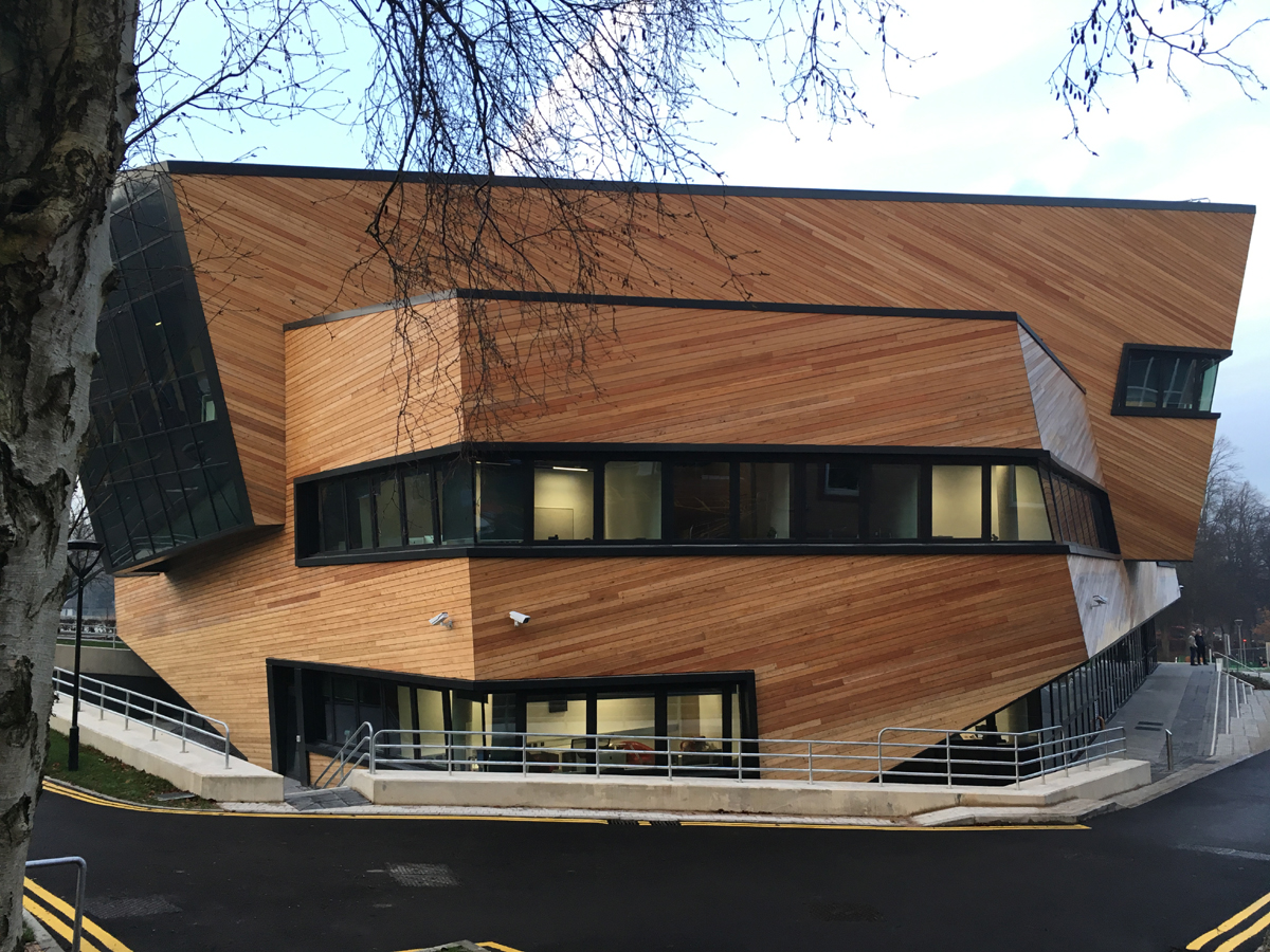 architect Daniel Libeskind at Durham University