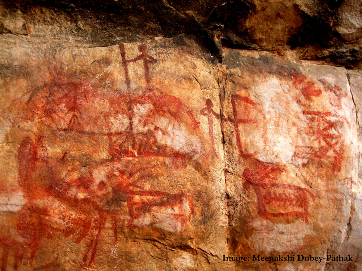 Rock art of Central India