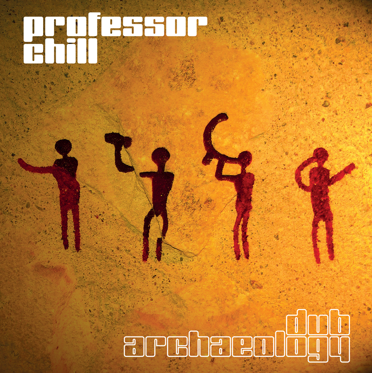 Professor Chill album Dub Archaeology. Cave art and acoustics. Soundworld of the past. Archaeology. Electronica.