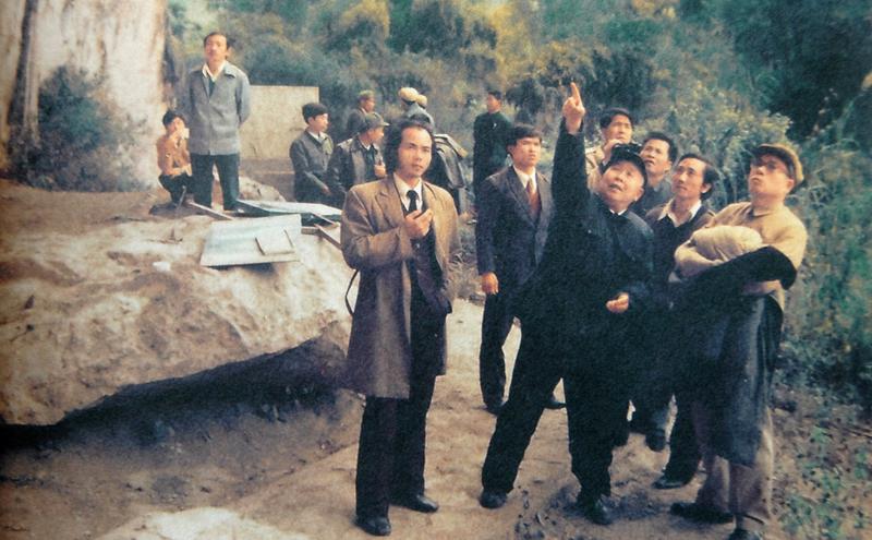 Investigating the rock art of Huashan in China