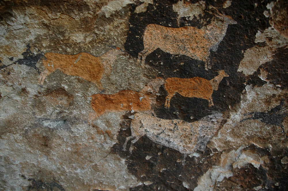 eland motif in the San rock art
