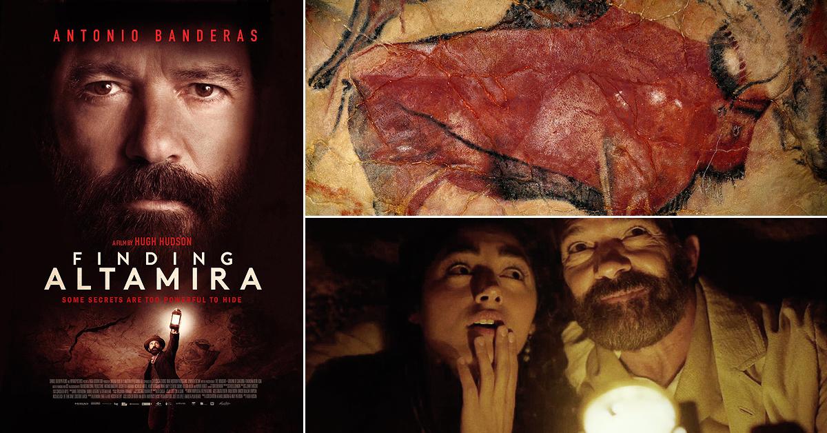 Finding Altamira Antonio Banderas Hugh Hudson Film