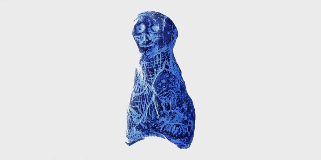 Foissac Palaeolithic sculpture