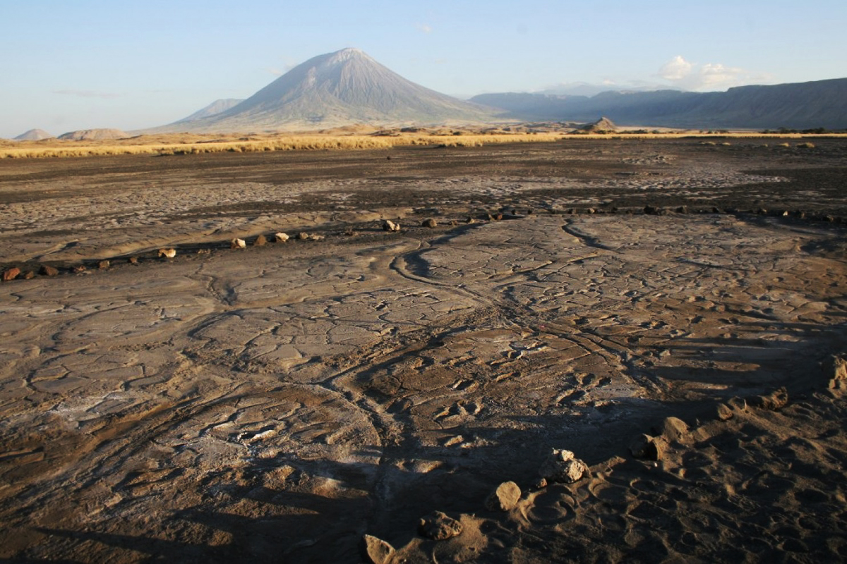 Ancient Engare Sero footprints of Tanzania