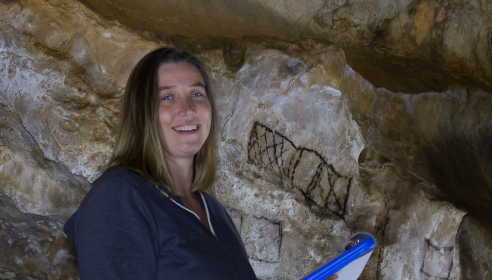 Genevieve von Petzinger is a Canadian paleoanthropologist and rock art specialist.