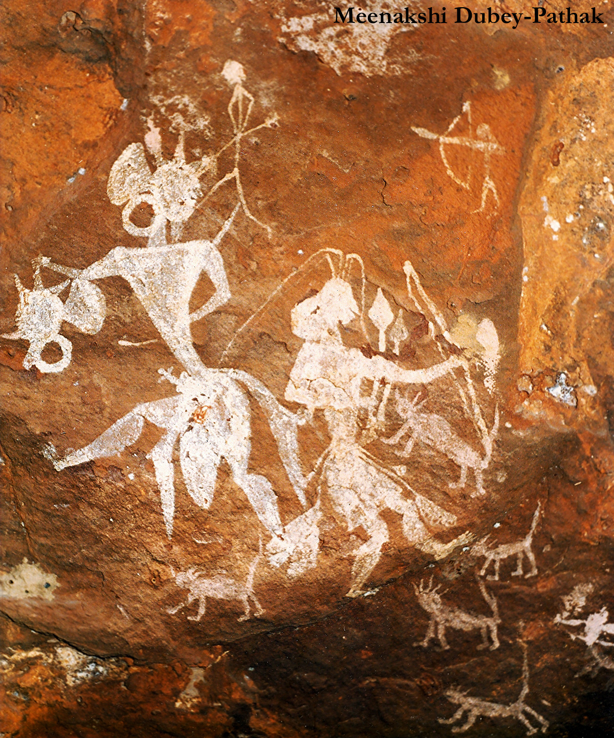 Headhunters of Pachmarhi rock art