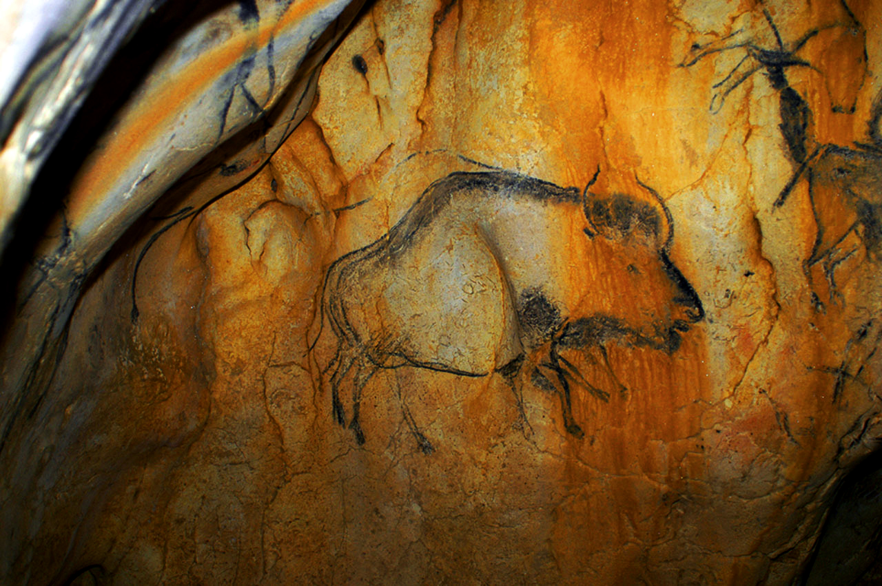 Higgs bison revealed in Ice Age rock art