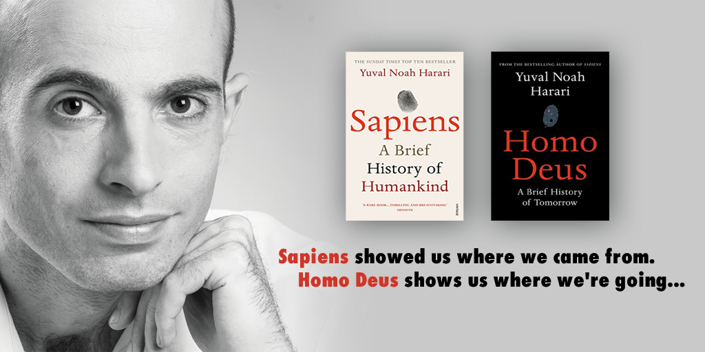 Image result for yuval harari