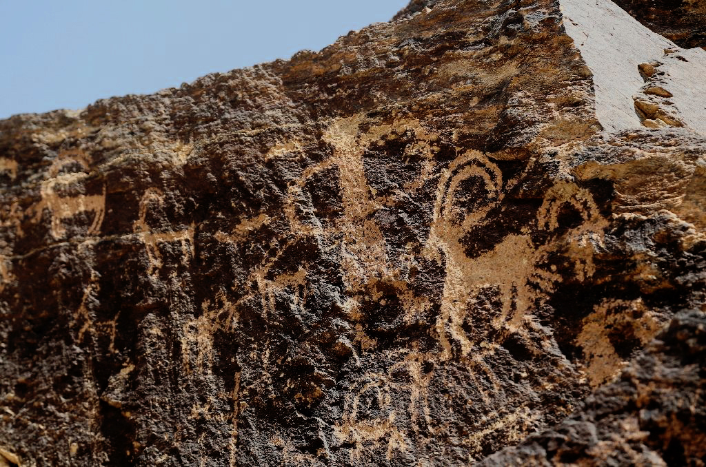The ibex rock art motif in Iran