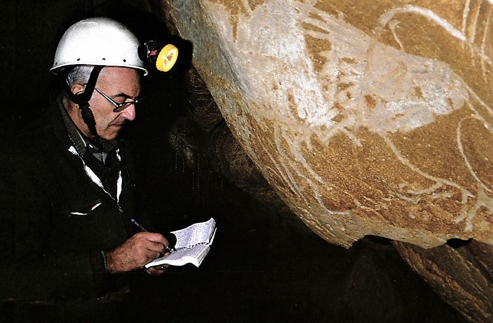 Jean Clottes Chauvet cave France rock art