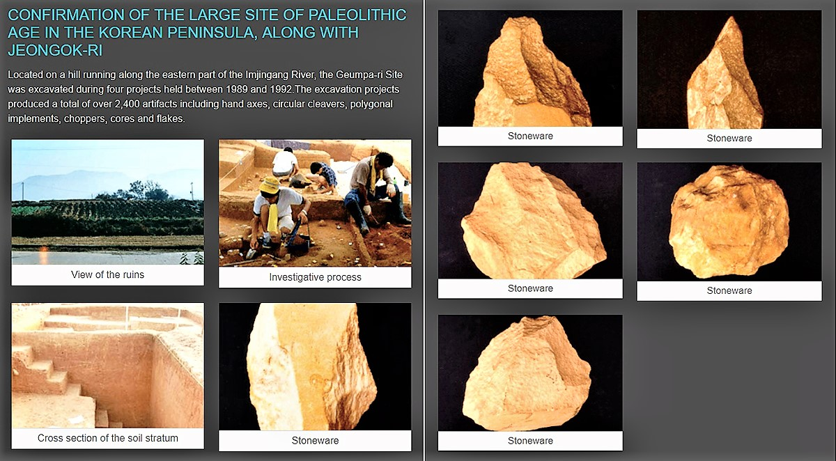 National Research Institute of Cultural Heritage. New publication: Dictionary of Korean Archaeology - The Paleolithic