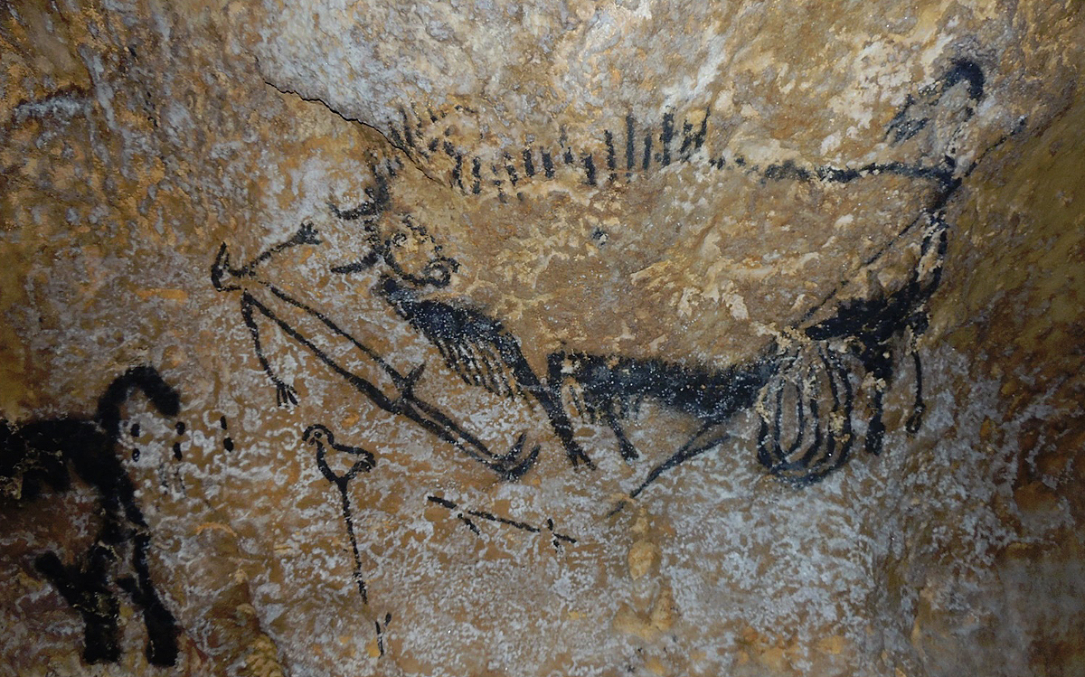 The Lascaux Shaft Scene is thought to represent Libra, Capricorn and Taurus