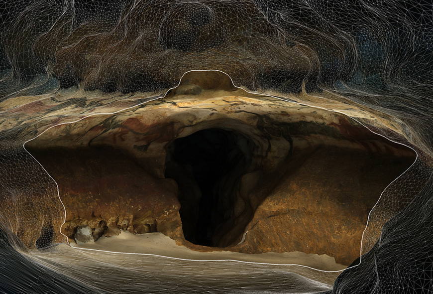 3D Lascaux Cave coming to life