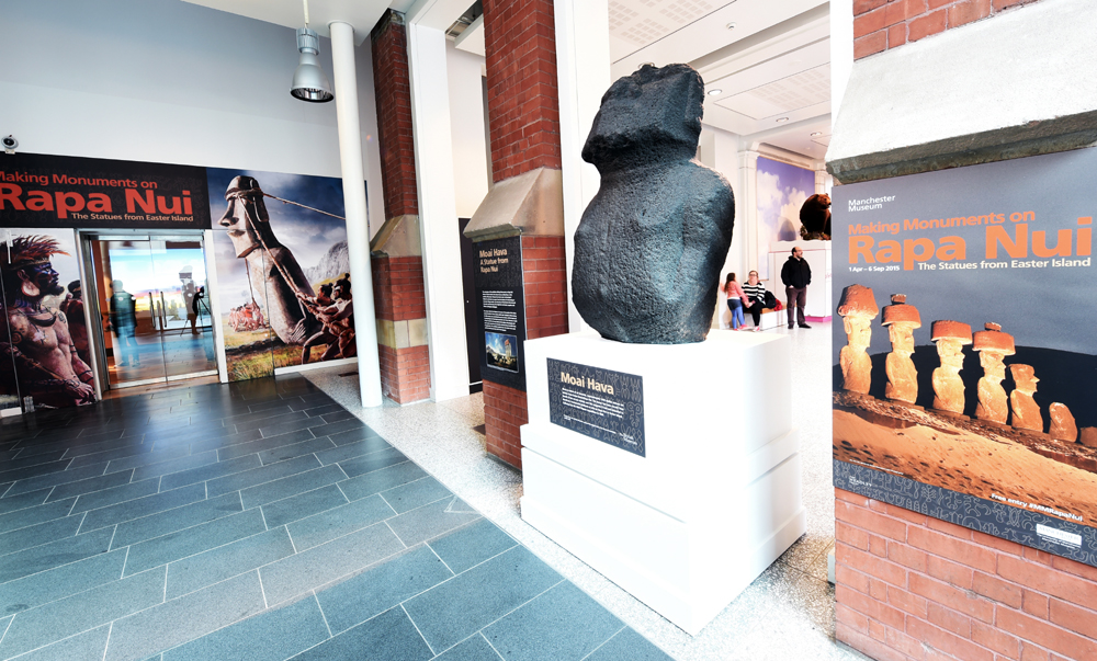 Easter Island Exhibition in Manchester
