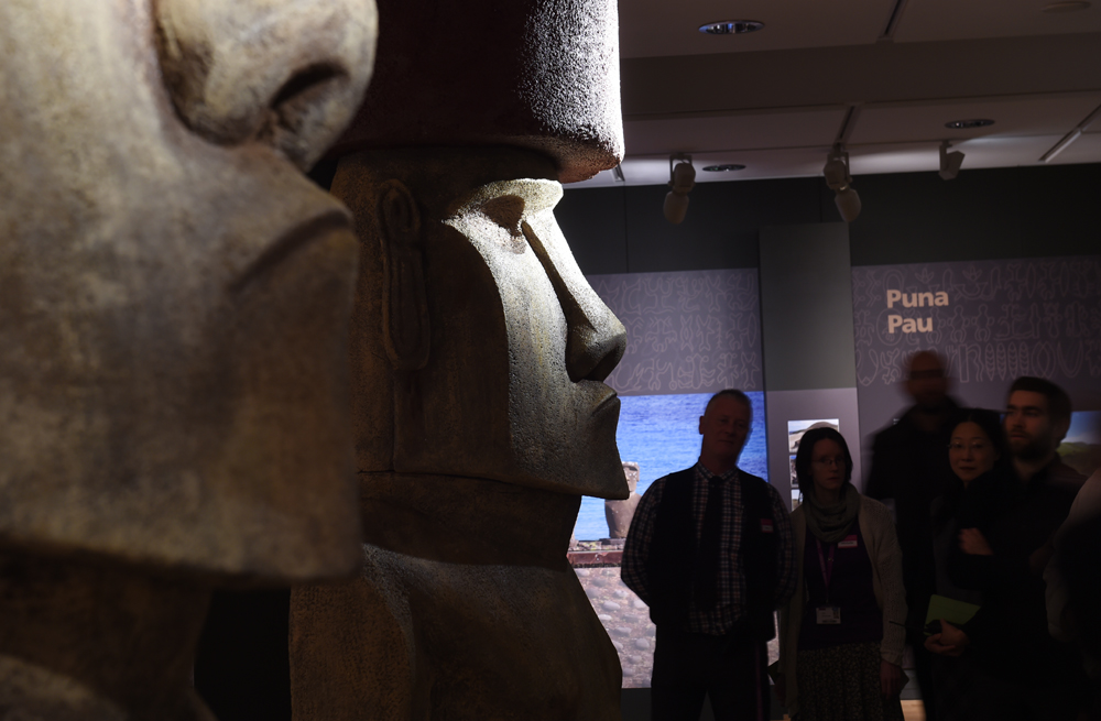 Easter Island exhibition at Manchester Museum