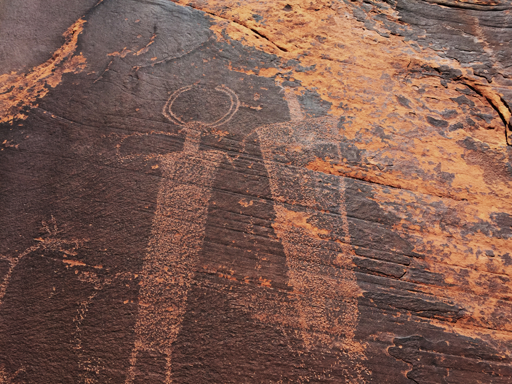 Rock art from Moab, United States