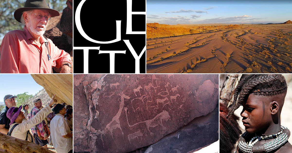 Getty Conservation Institute Namibia Rock Art Africa