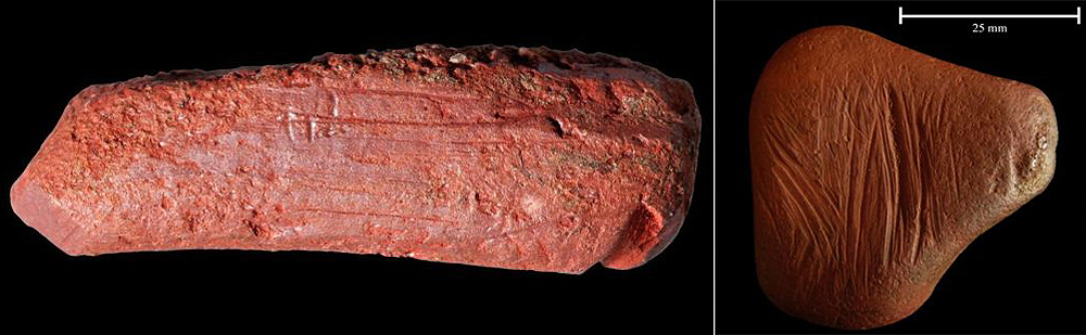Archaeologists find 10,000-year-old crayon in Scarborough