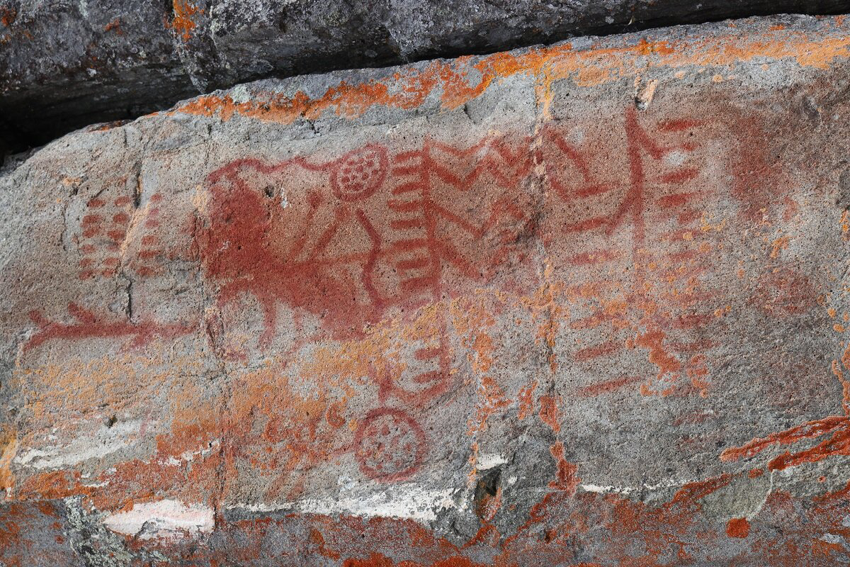 Modern technology reconstructs properties of ochre commonly found in ancient rock art Earth's oldest naturally occurring materials vivid red paint pictographs world research paint produced