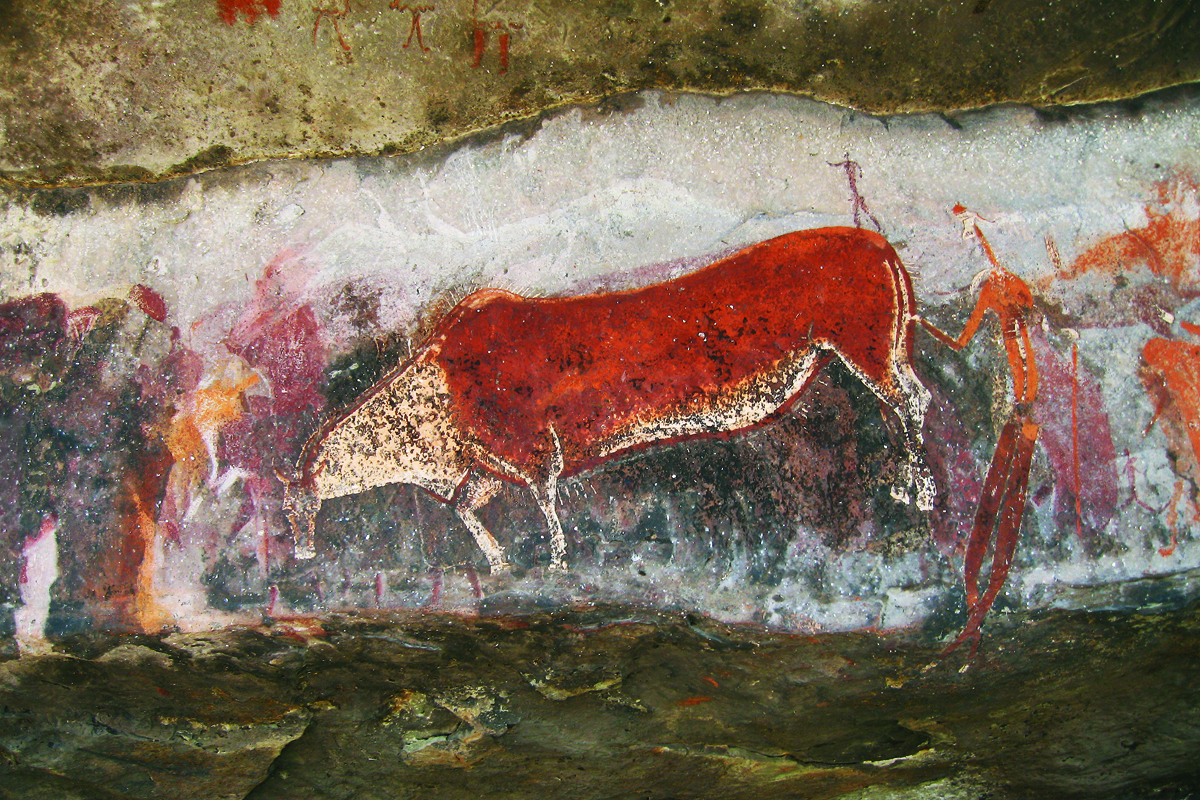 The Poisonwood Bible and the Rosetta Stone. Barbara Kingsolver. David Lewis-Williams. San symbolism in the rock paintings at Game Pass Shelter in the  Drakensberg mountains of South Africa.