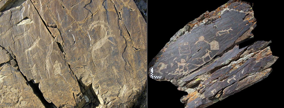 Discovery of petroglyph sequence at Kara Turug, Mongolia