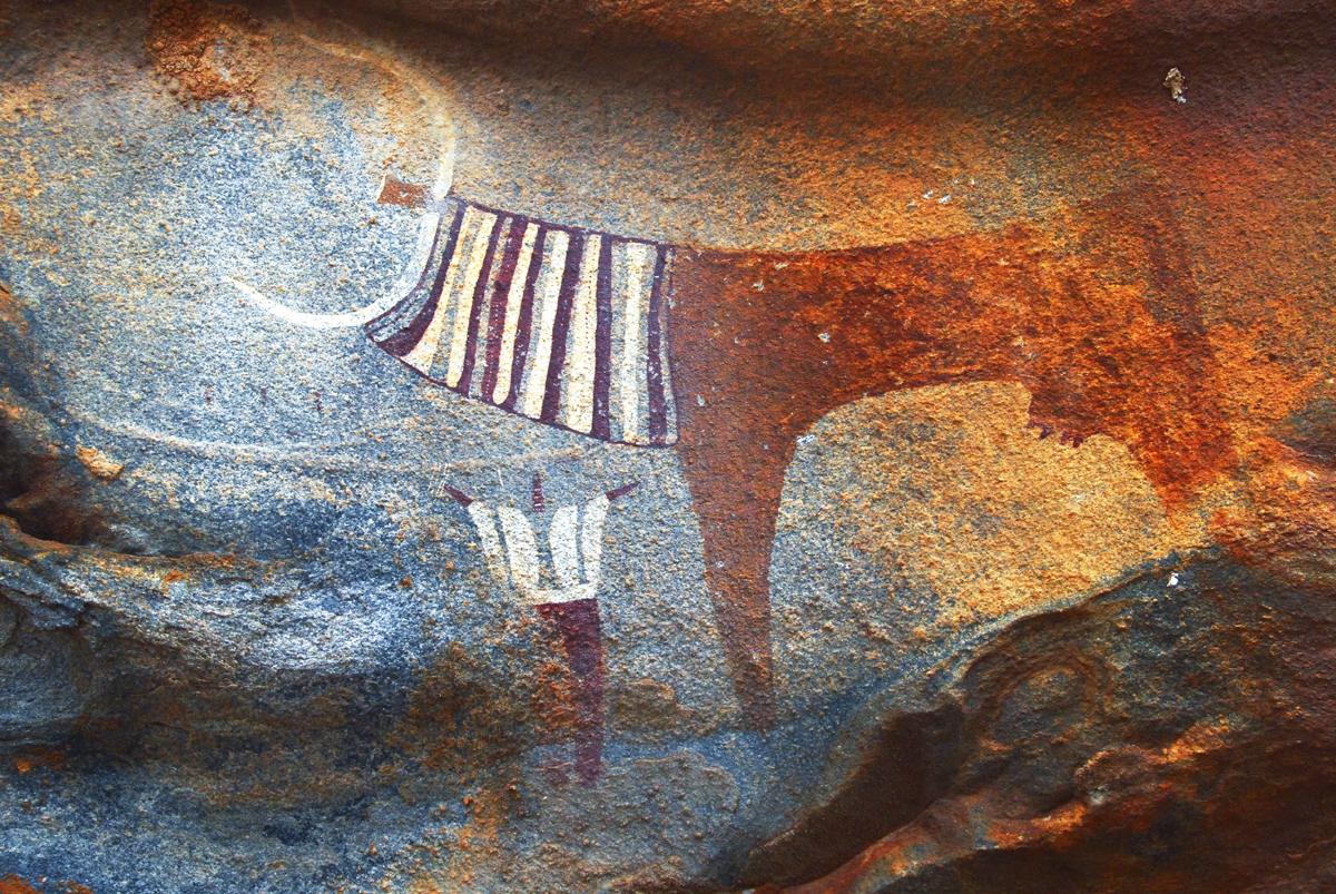 Laas Geel rock art site in Somaliland