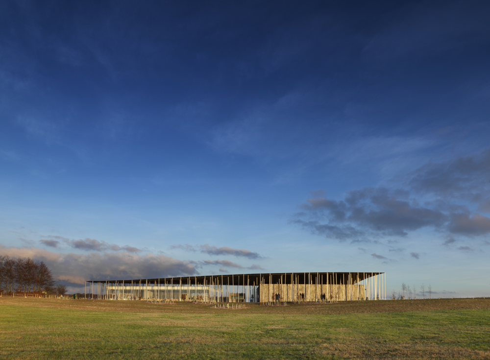the new stonehenge visitor center