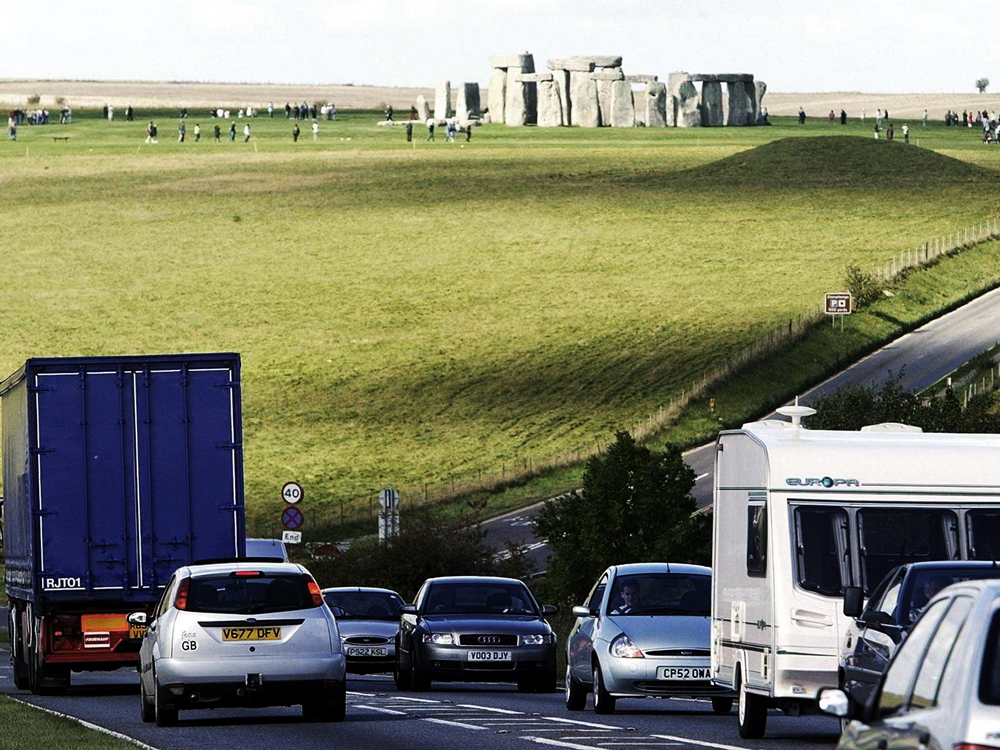 Proposed tunnel at Stonehenge