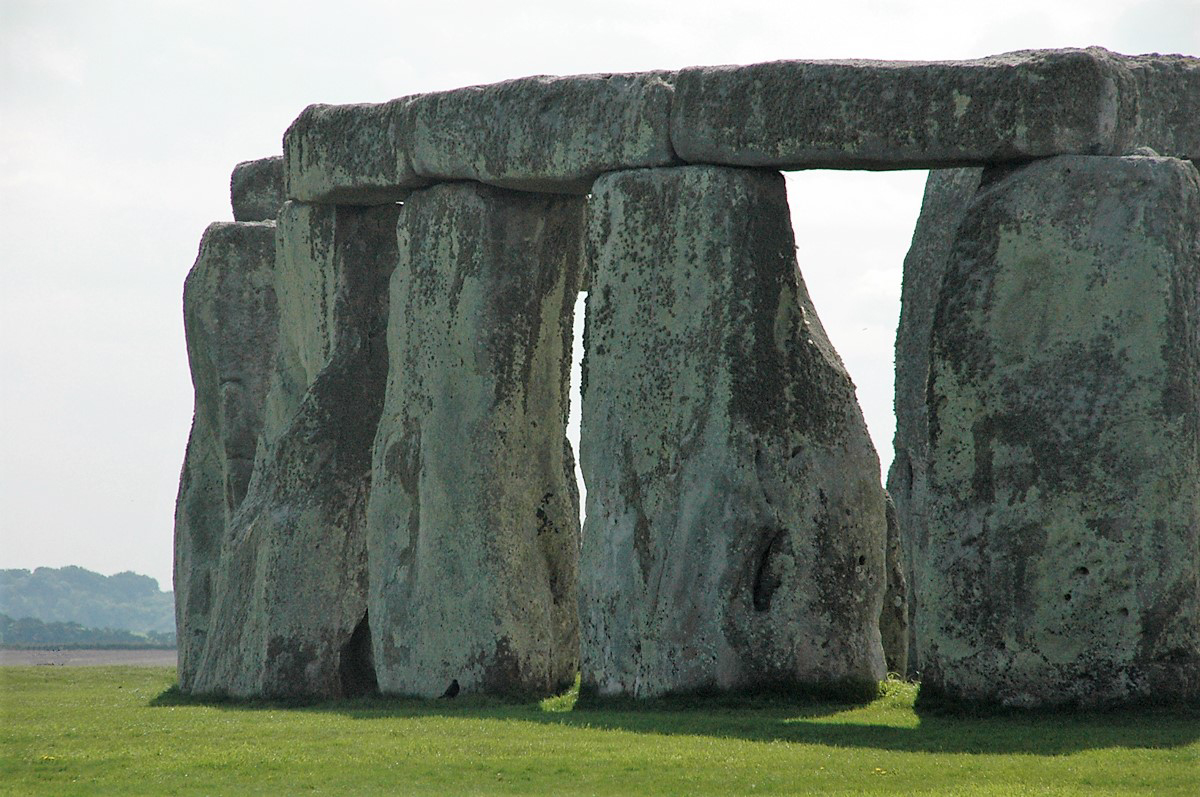 The huge megalths that make up Stonehenge were moved by human effort Bradshaw Foundation