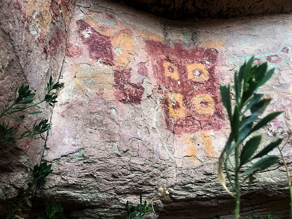 Taira Valley rock art of Chile