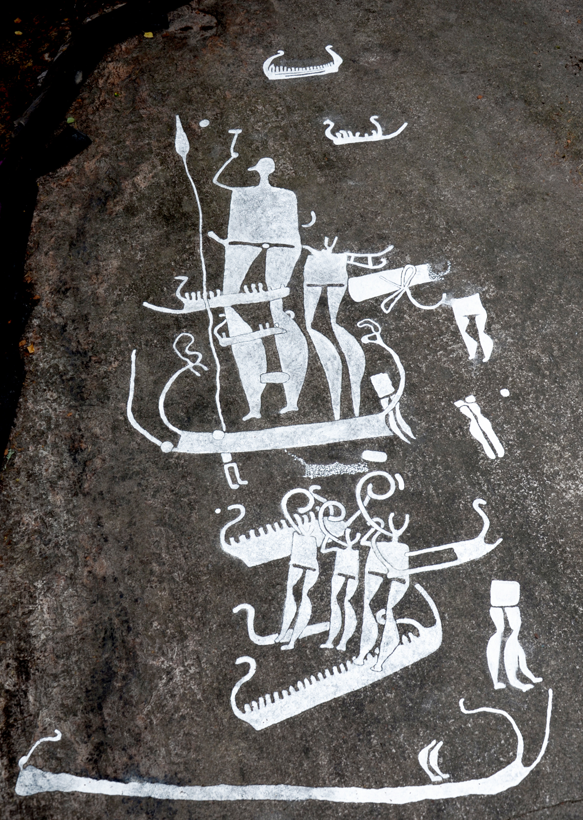 Rock art of Tanum in Sweden