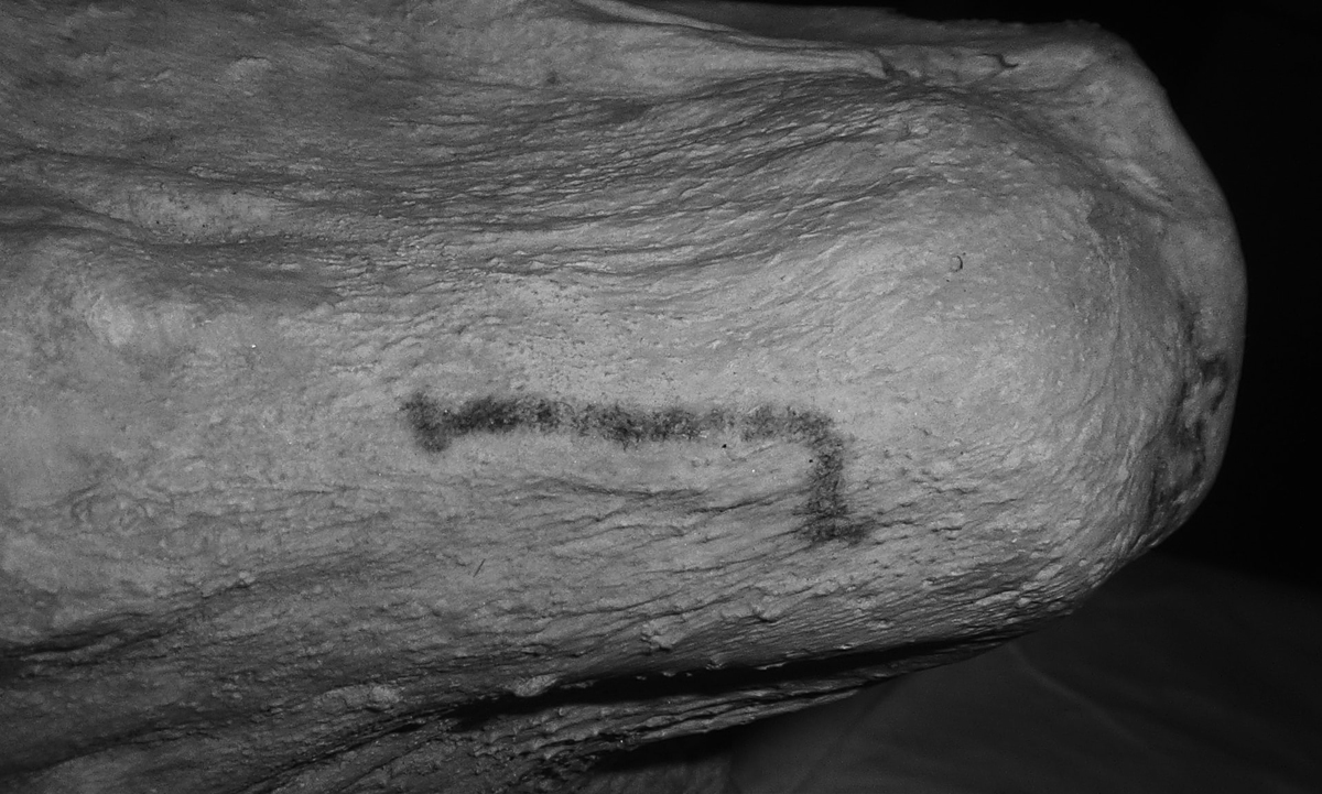 Tattoos discovered at the British Museum