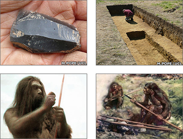 Neanderthals Stone Tools England