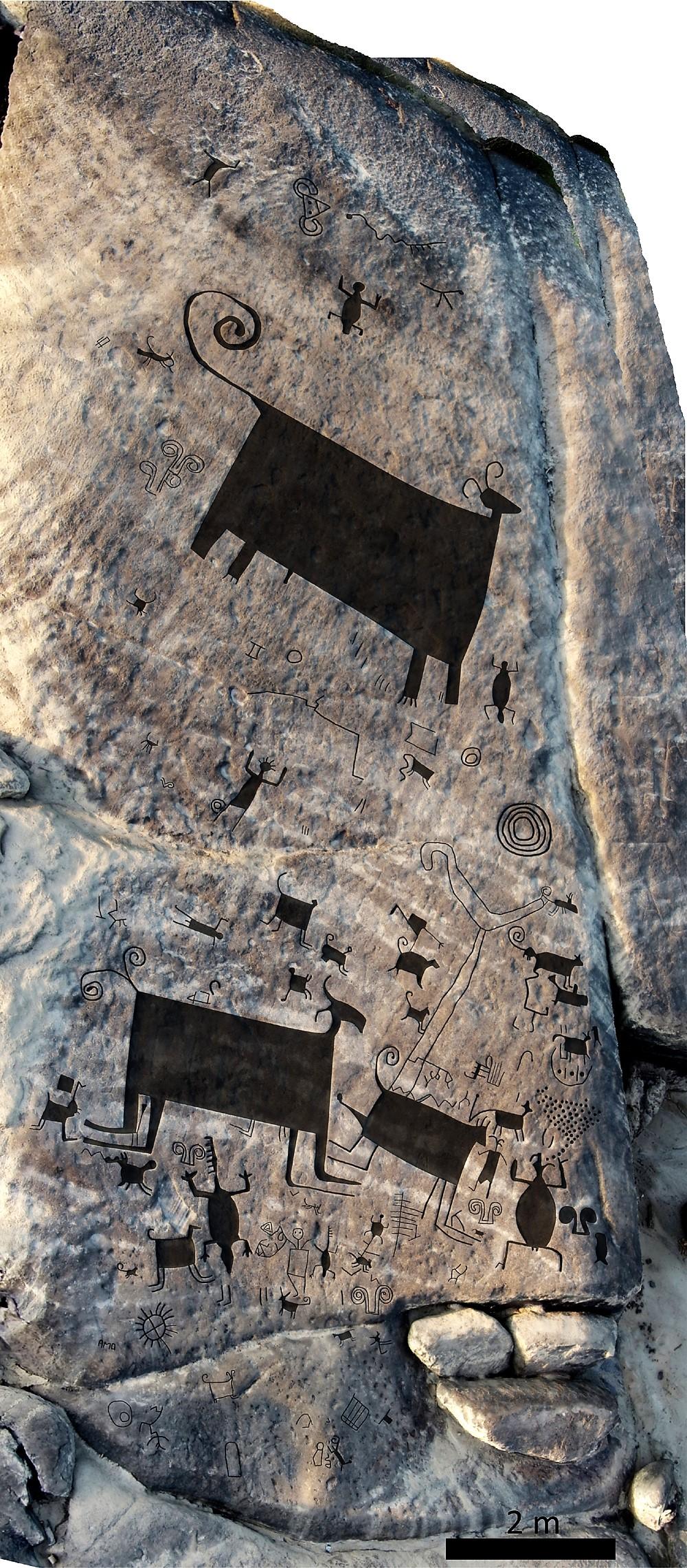 Mapping of Venezuelan rock art