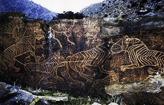 Rock art of China