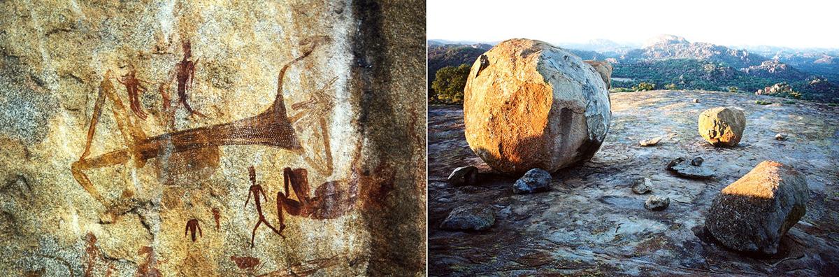 Zimbabwe rock art safari