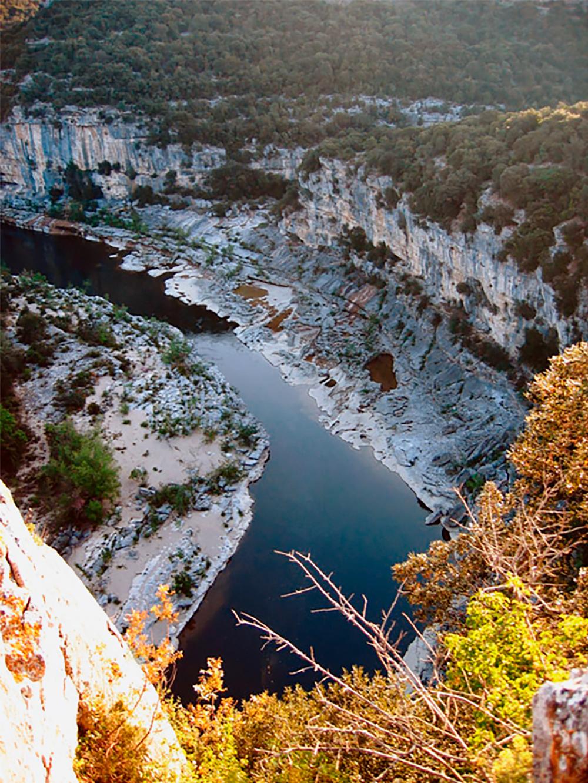 Chauvet Cave Ardeche River