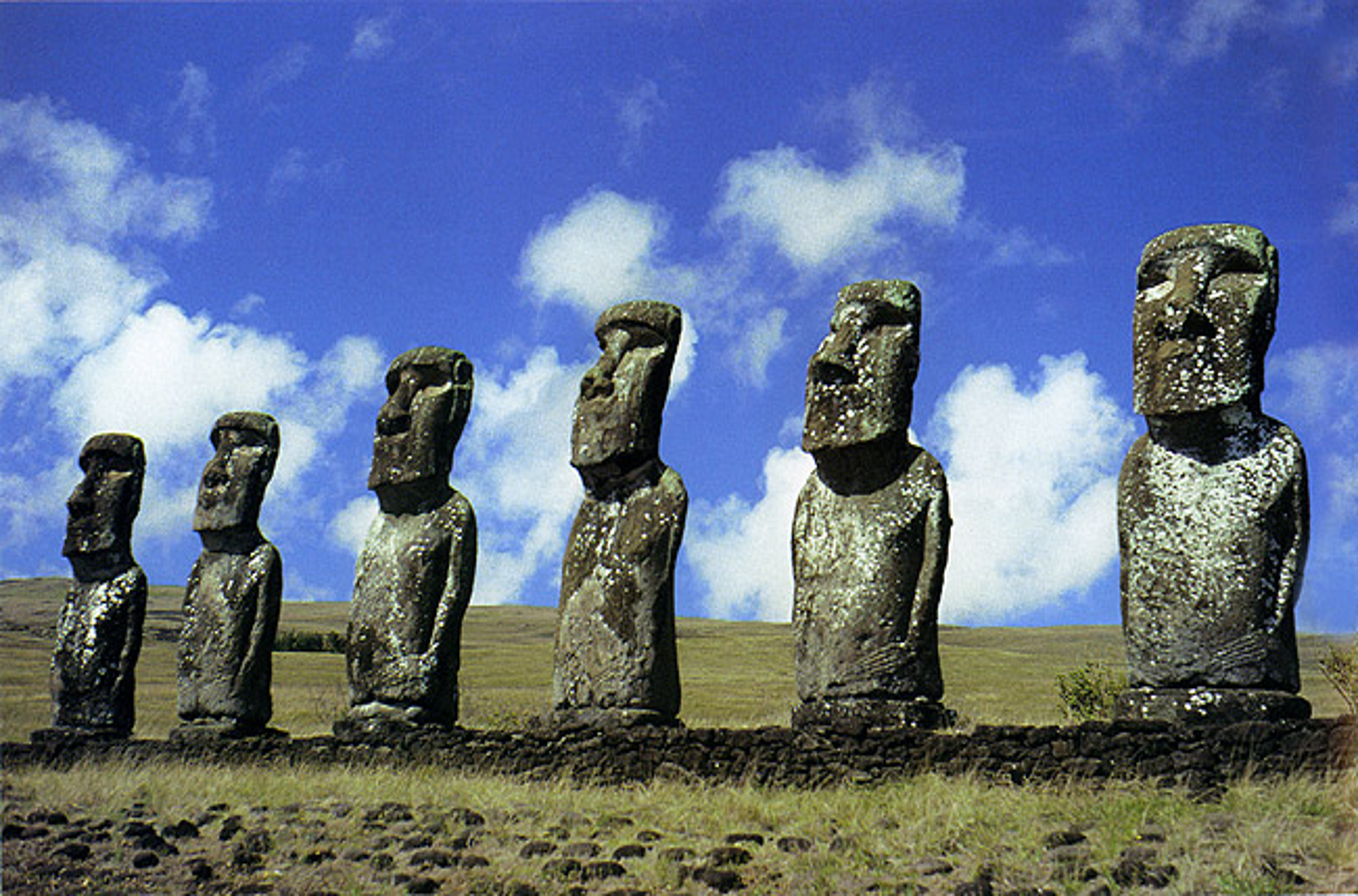 Easter Island - Moai Statues and Rock Art of Rapa Nui