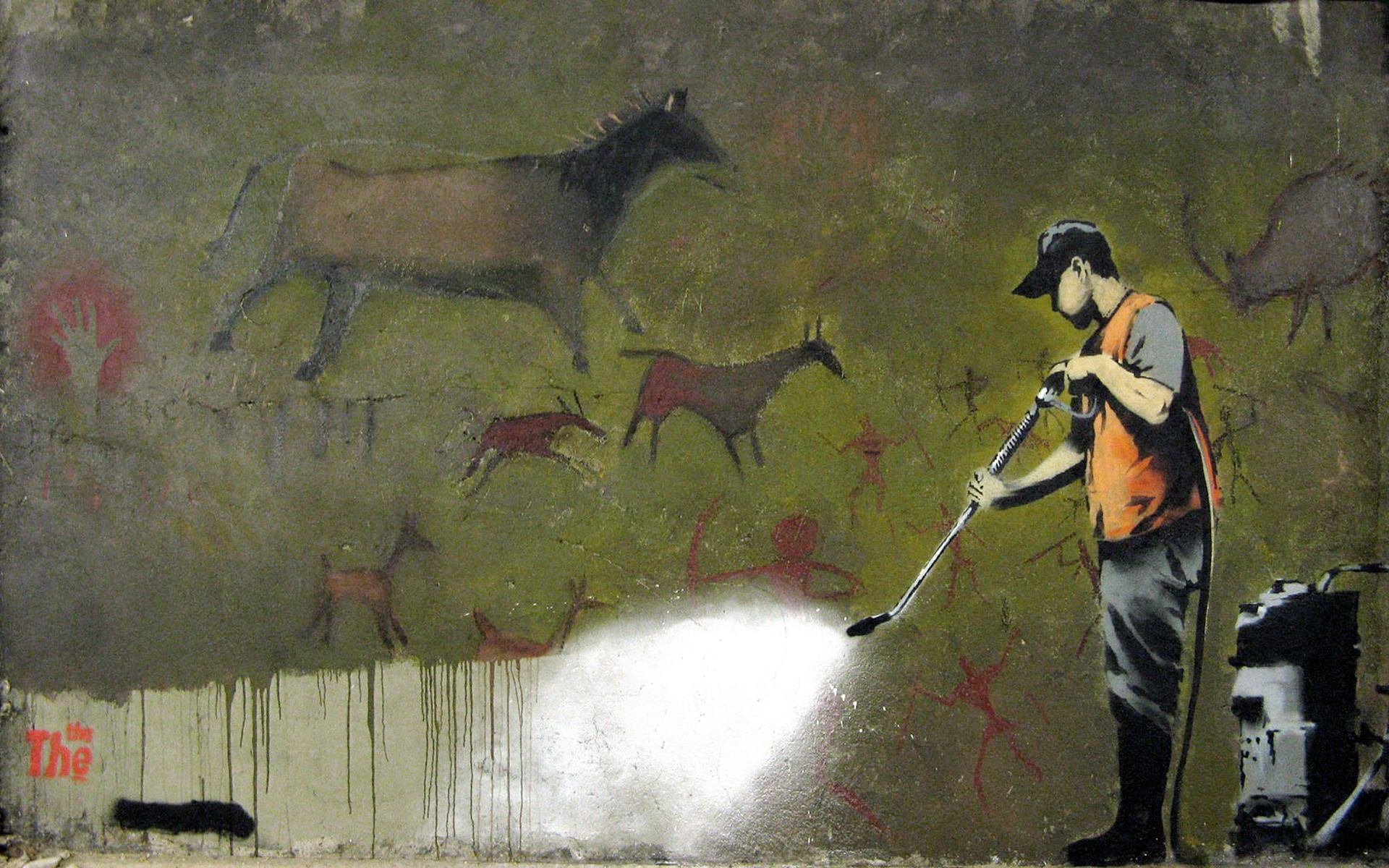 Graffiti Removal Banksy